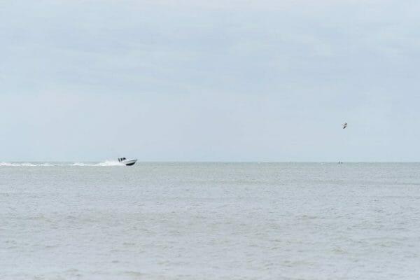 Jersey shore boat