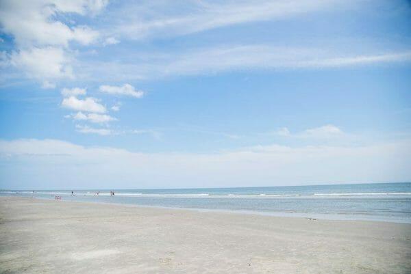 Beach in Charleston