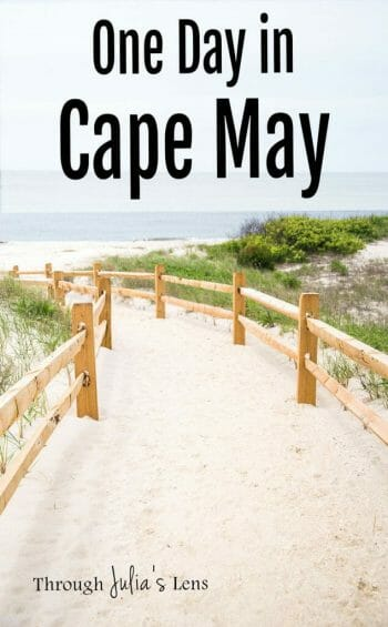 One Day in Cape May: Victorian Houses & Dog Friendly Beaches