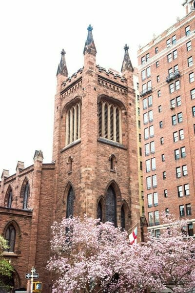 Greenwich Village Episcopal church