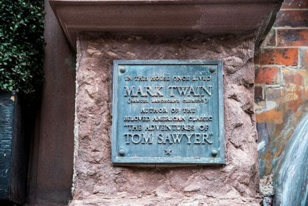 Greenwich Village Mark Twain house