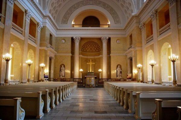 Christiansborg chapel