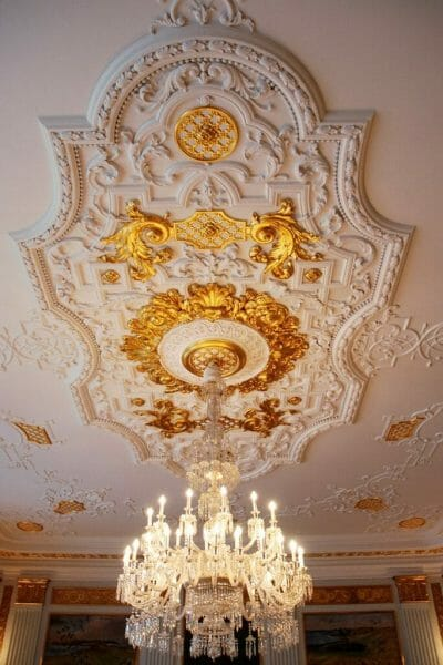 Gold ceiling in Christiansborg