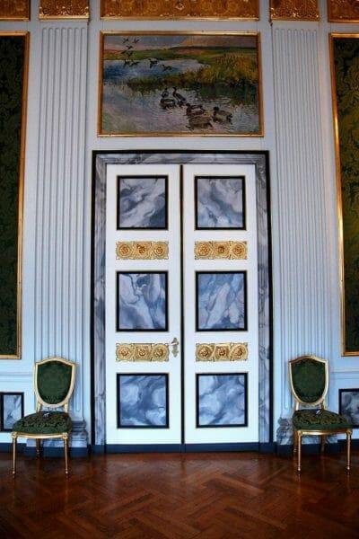 Marble doorway in Christiansborg