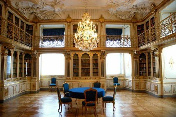 Christiansborg library