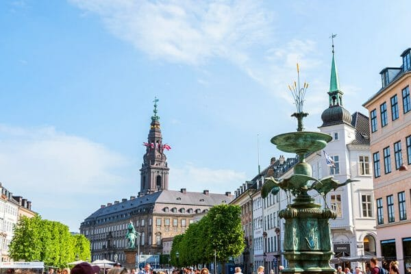 View of Christiansborg