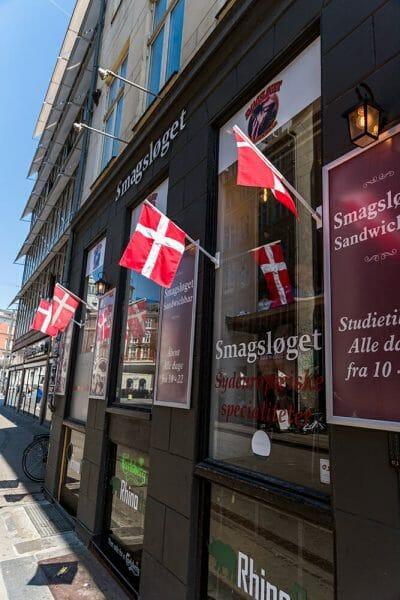 Sandwich restaurant Copenhagen