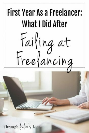 First Year As a Freelancer: What I Did After Failing at Freelancing