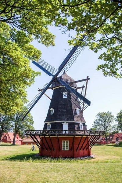 Windmill in Kastellet in Copenhagen