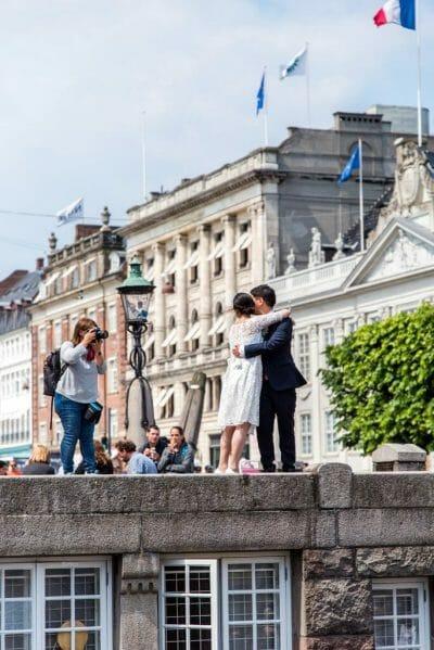 Wedding photoshoot at Nyhavn