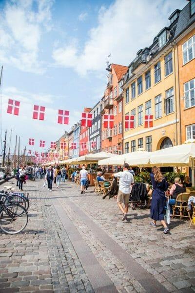 Nyhavn in the summer