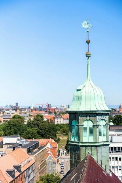 View of Copenhagen from Round Tower