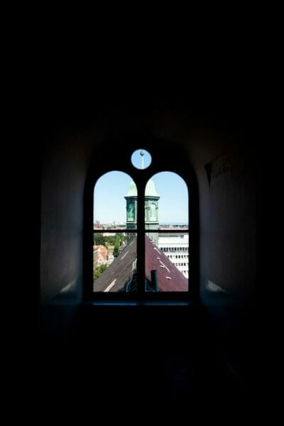 Inside the Round Tower in Copenhagen