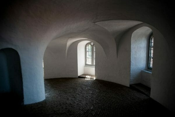 Inside the Round Tower in Copenhagen