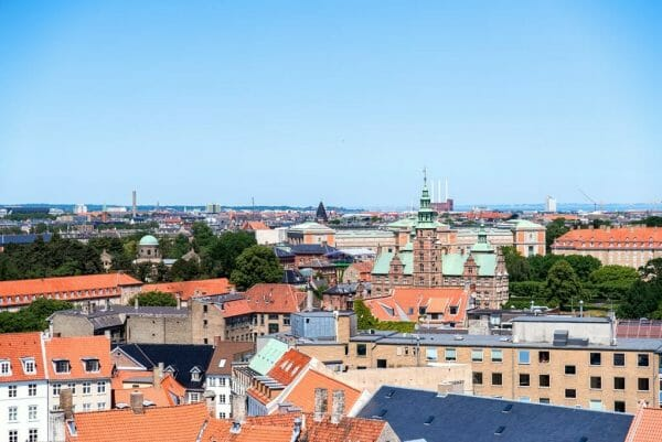View of Copenhagen from Round Tower