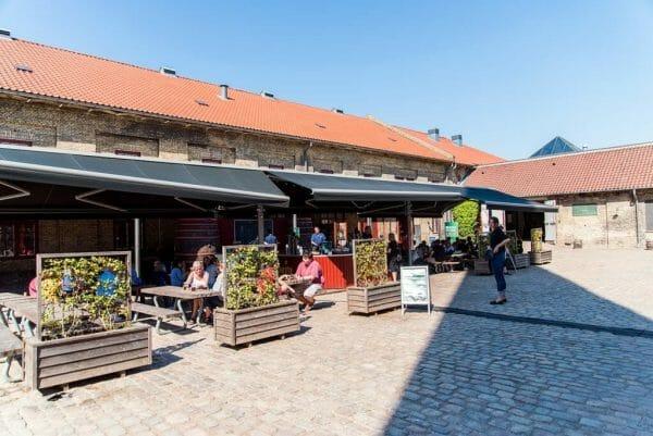 Carlsberg Brewery in Vesterbro