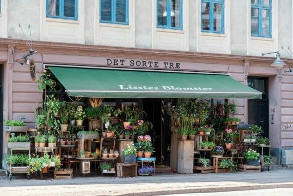 Istedgade shopping street Vesterbro