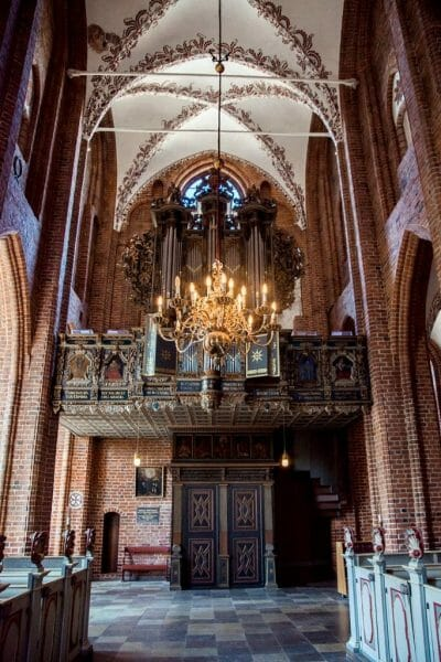 St. Mary's Church in Helsingor