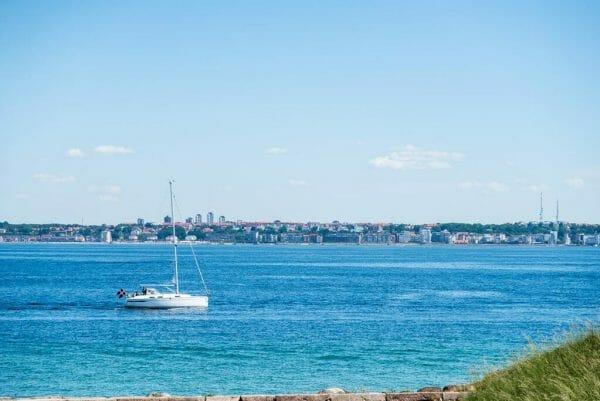 Kronborg Castle ocean view