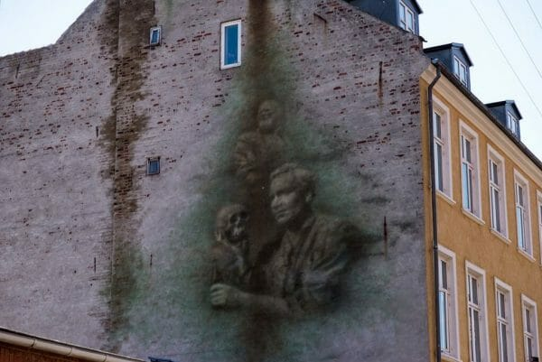Downtown Helsingor Hamlet mural