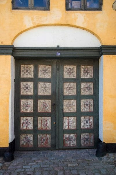 Danish house doors