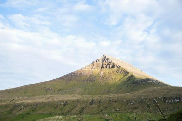Mountains in the Faroe Islands