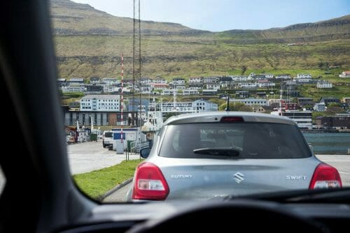 Driving in the Faroe Islands