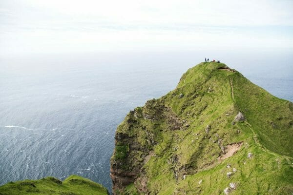 View from Faroe Islands lighthouse