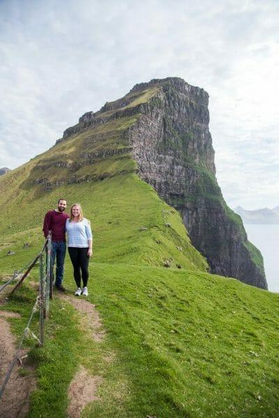 Faroe Islands hikers
