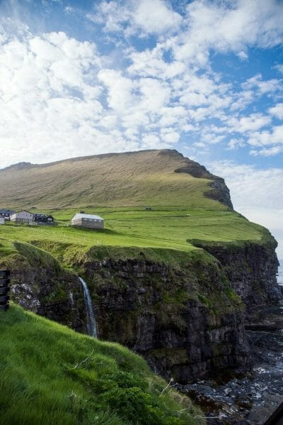 Hike to the Kallur Lighthouse in the Faroe Islands