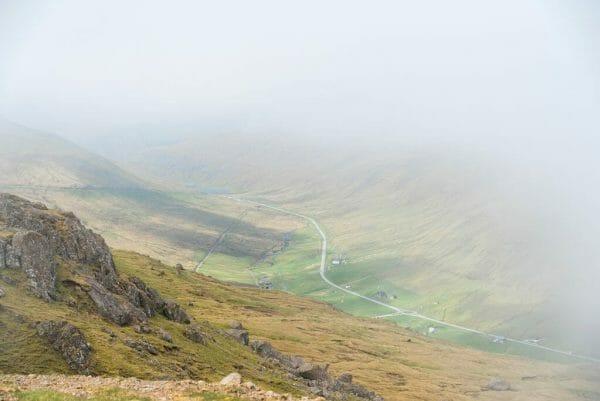 Faroe Islands mountain view