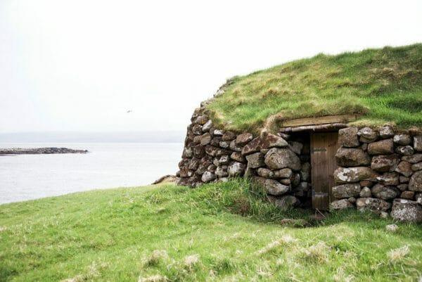 Faroe Islands stone house