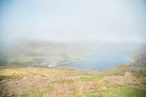 Faroe Islands cliff view