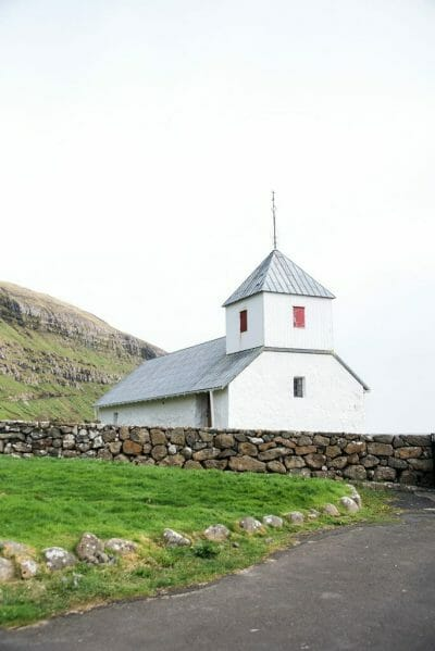 Church in Kirkjubøur