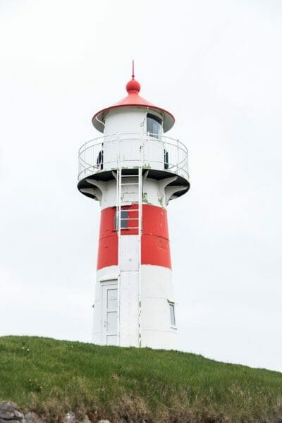 Lighthouse in Tórshavn