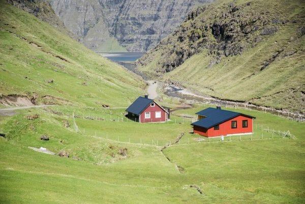 Faroe Islands houses