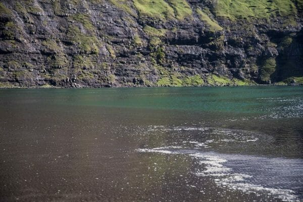 Faroe Islands black sand beach