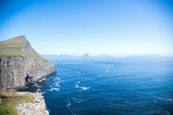 Faroe Islands cliff views