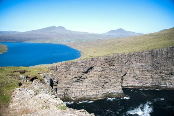 Faroe Islands Hanging Lake