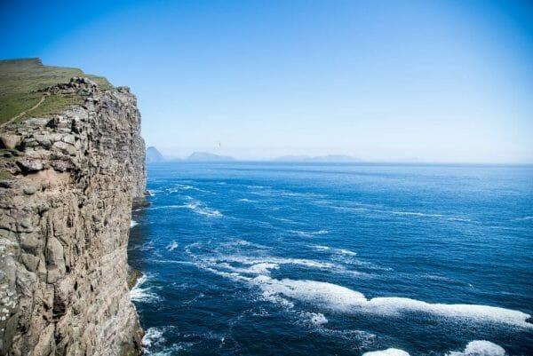 Faroe Islands cliffs