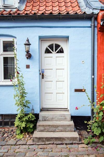 Colorful houses in Aarhus