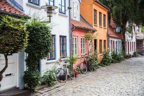 Mollestien in Aarhus, Denmark