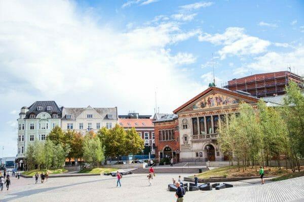 Square in Aarhus