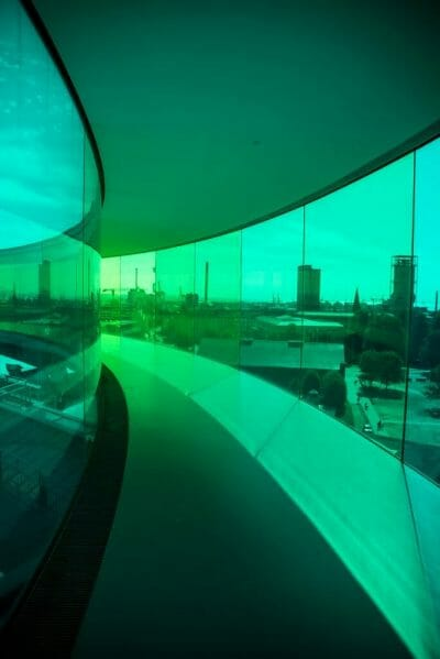 ARoS Aarhus Kunstmuseum rainbow