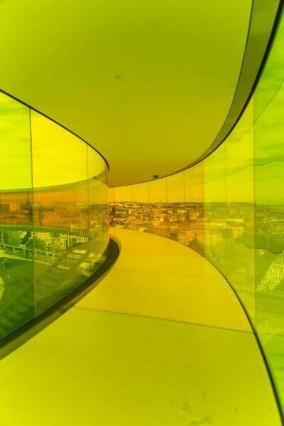 ARoS Aarhus Kunstmuseum rainbow panorama