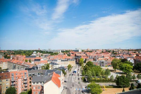 View from ARoS Aarhus Kunstmuseum