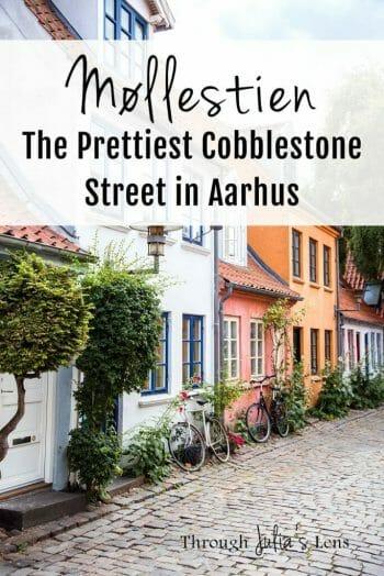 Møllestien- The Prettiest Cobblestone Street in Aarhus, Denmark