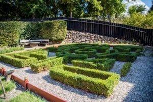 Denmark manicured garden