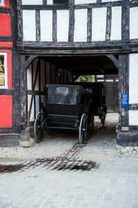 Horse and buggy in Denmark
