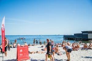 Den Permanente beach in Aarhus